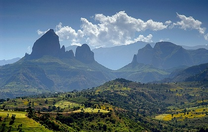 Simien Landscape Small